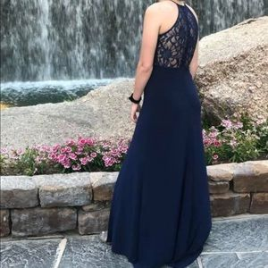 Dresses & Skirts - Blue prom dress/ formal gown